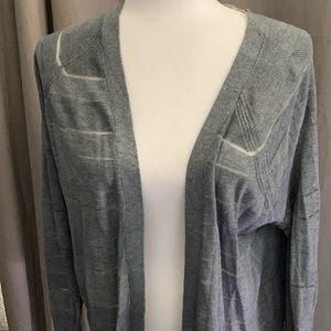 NWT mossimo women's open front sweater